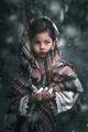 Беше люта зима, валеше сняг, настъпваше тъмна вечер... ; comments:27