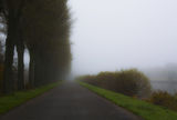 Road in the fog ; Comments:5