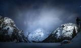 Езерото Брайес по тъмно и зимно... ; comments:36