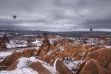 Кападокия  снежна и красива ; Comments:15