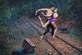 Danse, rail , mouvement. ; comments:6