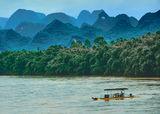По река Ли, провинция Гуанши, Китай ; comments:6