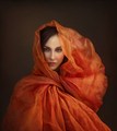 Girl With An Orange Veil ; comments:72