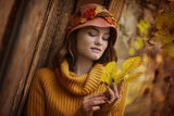 Beautiful autumn girl. ; comments:42