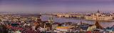 Будапеща от Рибарските кули / Budapest from Fisherman's Bastion ; comments:10