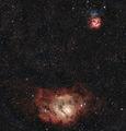 M8 - Lagoon Nebula & M20 - Trifid Nebula ; comments:6