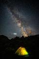 Така се посреща Млечния път над Купените :) ; comments:2