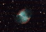 Планетарната мъглявина Гира - Месие 27 в съзвездието Лисиче ; comments:6