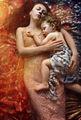 моя си интерпретация по любим портрет на Климт :) ; comments:3