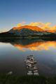 Огледални отражения по залез край Муратово езеро ; comments:26