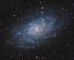 M33 - Спираловидна галактика в съзвездието Триъгълник ; comments:9