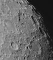 Clavius, Tycho and Longomontanus craters ; comments:9