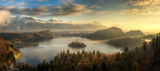 Morning over lake Bled, Slovenia ; comments:23