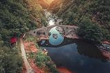 Залез се спуска по Дяволския мост ; comments:2