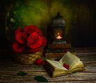 Натюрморт с рози ; comments:9