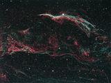 NGC6960 Western Veil nebula - Западния Воал (Caldwell 34) ; comments:11