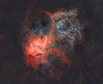 SH2-132 Мъглявината Лъв ; comments:10